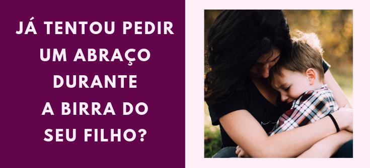 Blog Canto Maternar pedir abraço disciplina positiva