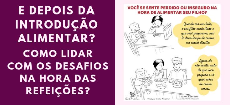 Blog Canto Maternar Desafios Alimentares