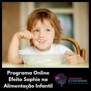 Efeito Sophie na Alimentação Infantil