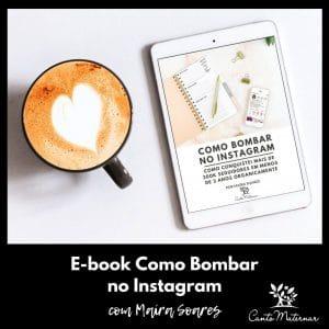 Ebook Como Bombar no Instagram Banner Blog